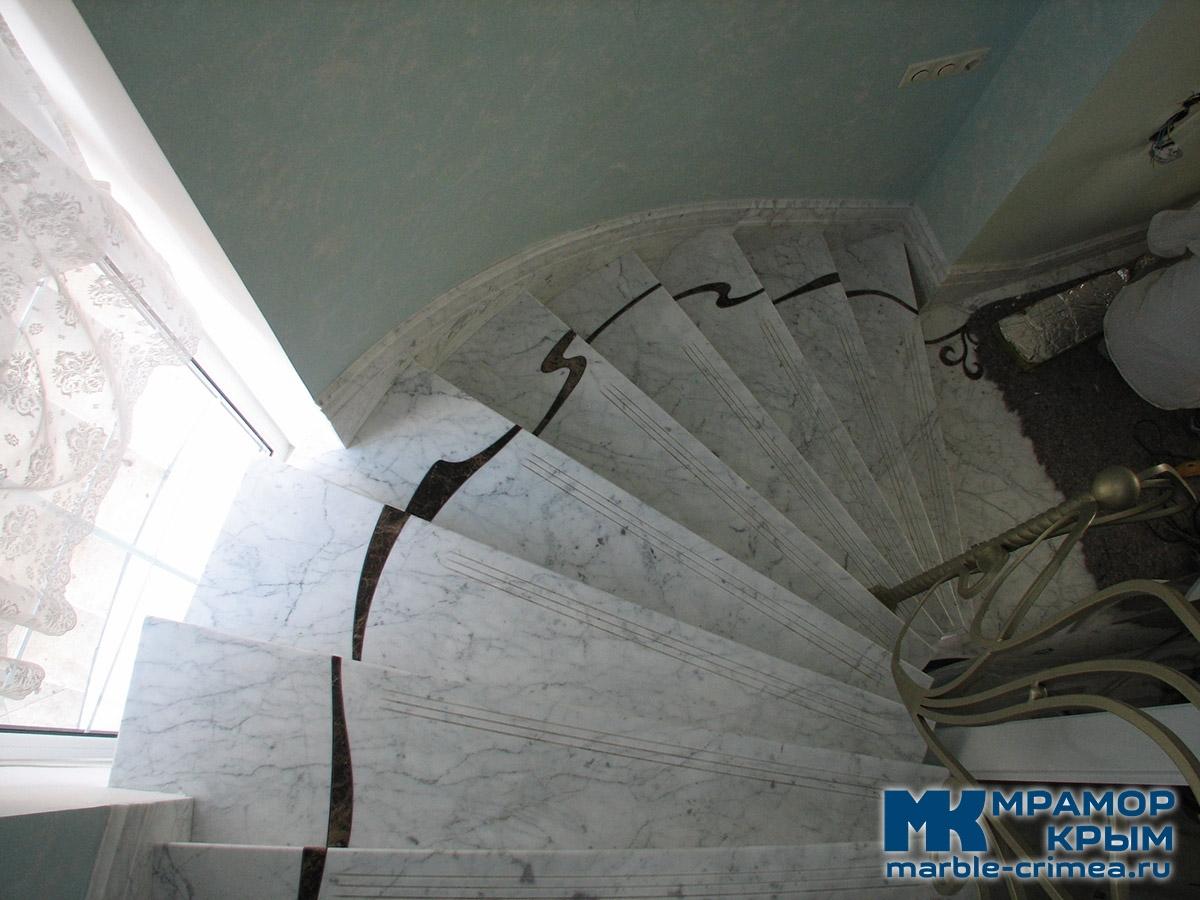 Мраморная лестница. Ялта.