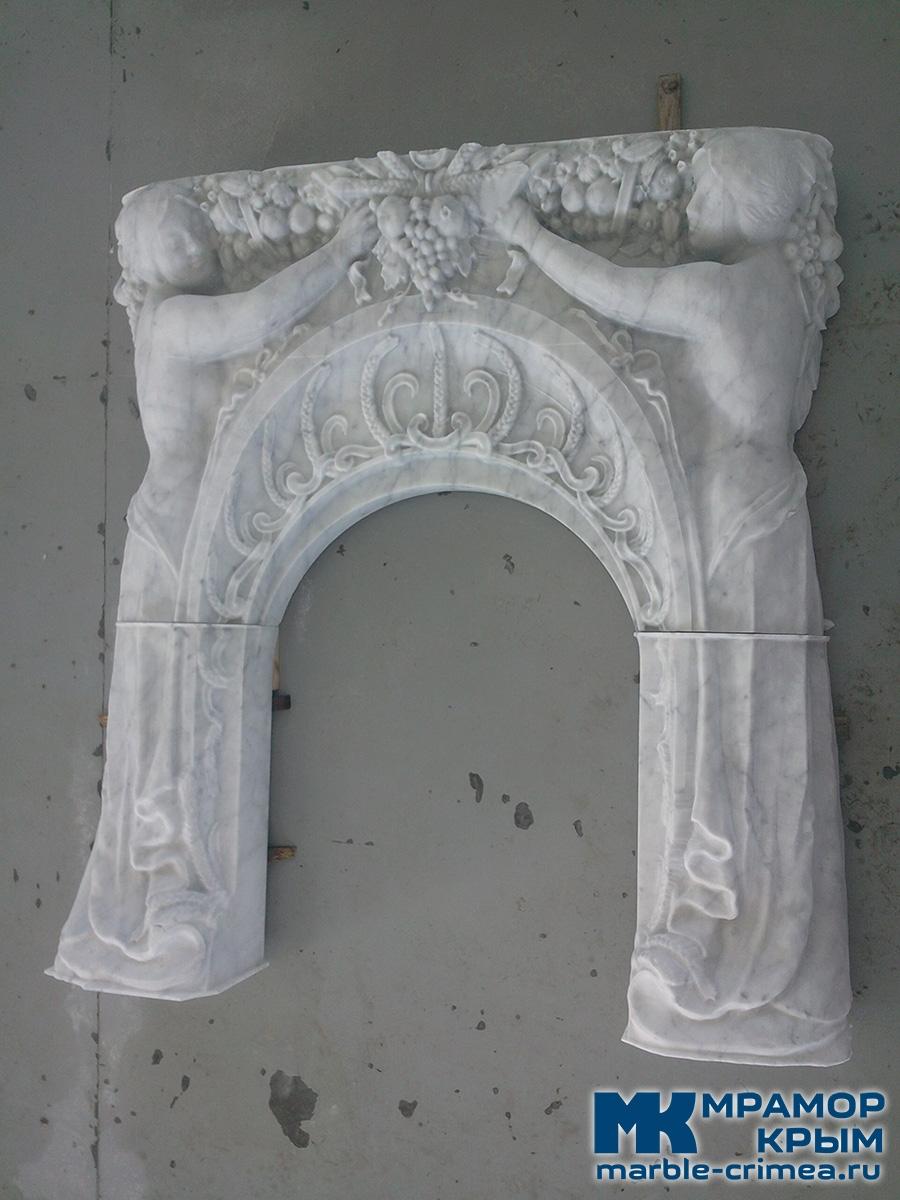 Камин портал