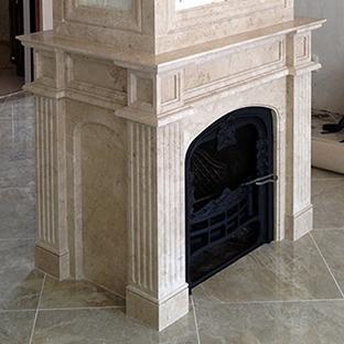 Мраморный камин в Севастополе