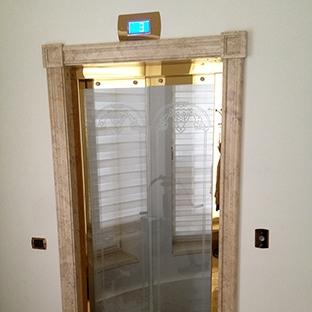 Мраморные наличники для лифтов