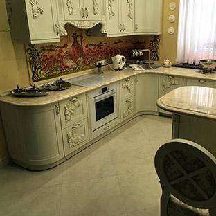 Столешница для кухни цена симферополь Мойки искуственный камень Ботово