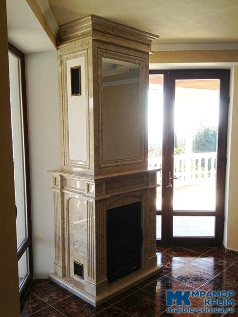 Портал для камина в классическом стиле